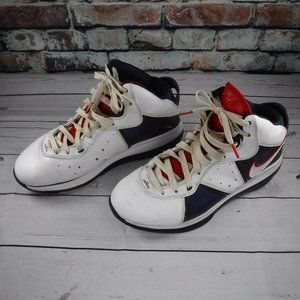 Nike Lebron James black and  white sneakers 9.5